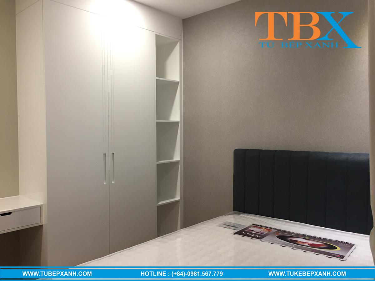 đóng nội thất phòng ngủ gỗ công nghiệp