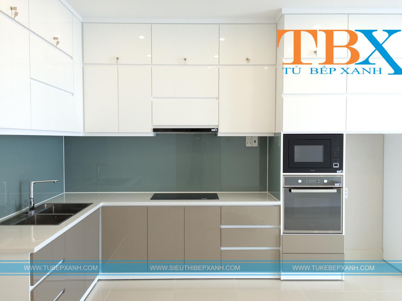 thiết kế những tủ bếp