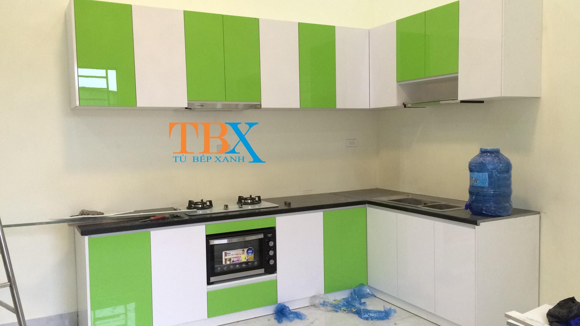 Tủ bếp acrylic ở đồng nai