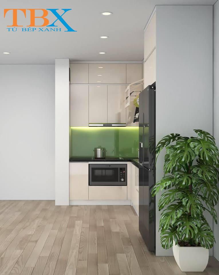 Thiết kế bếp chung cư