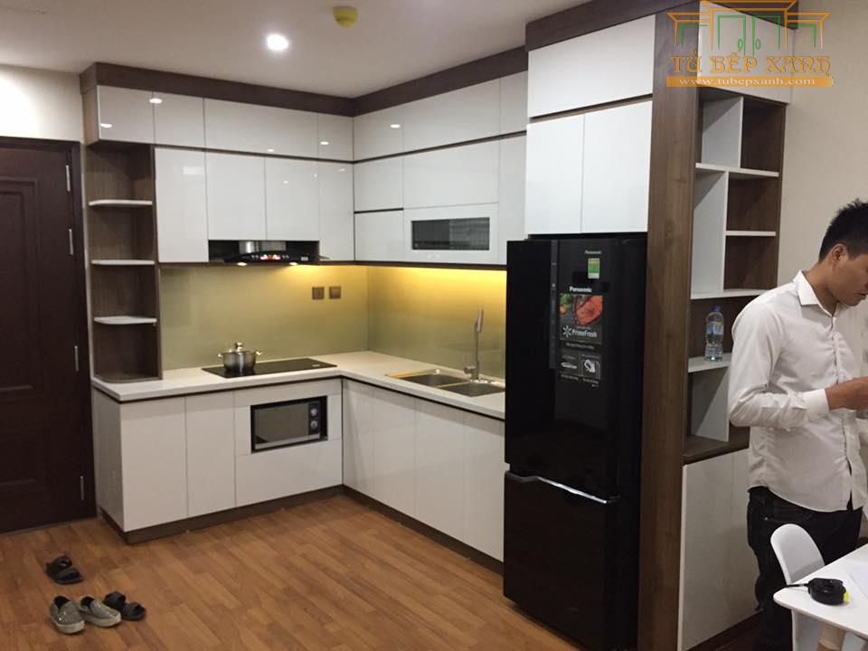tủ bếp căn hộ chung cư
