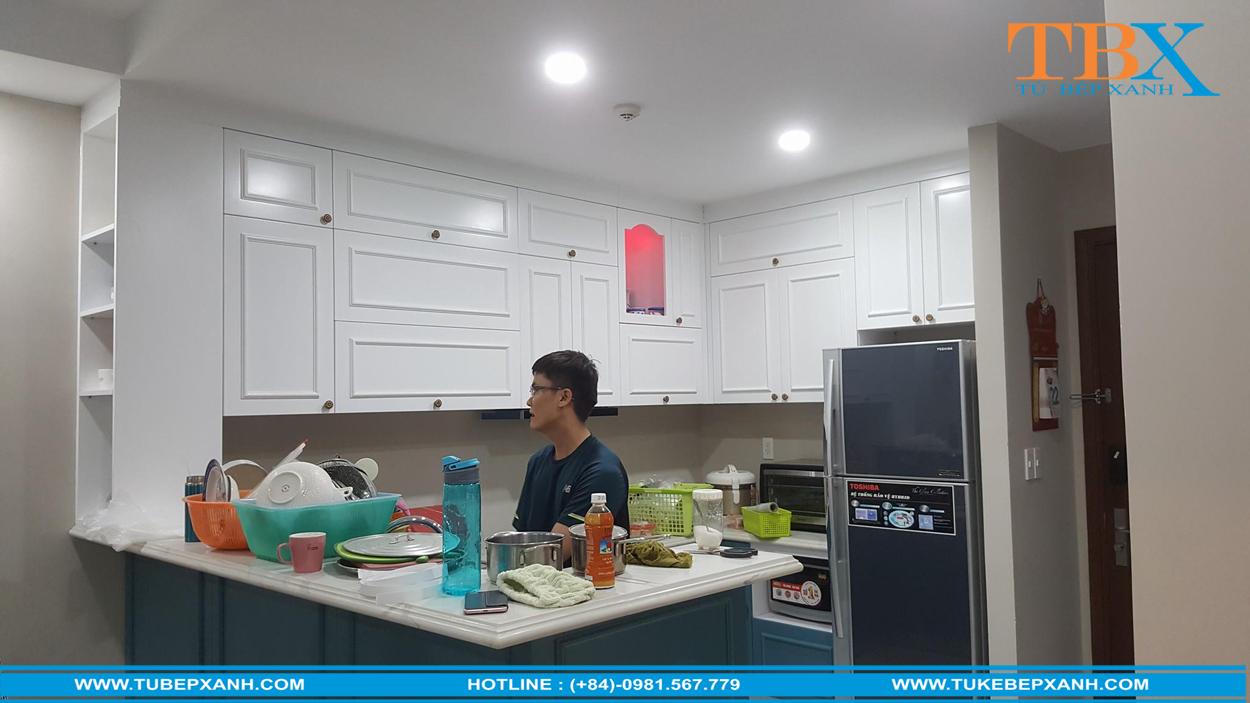 Thi công tủ bếp ở tại Hồ Chí Minh