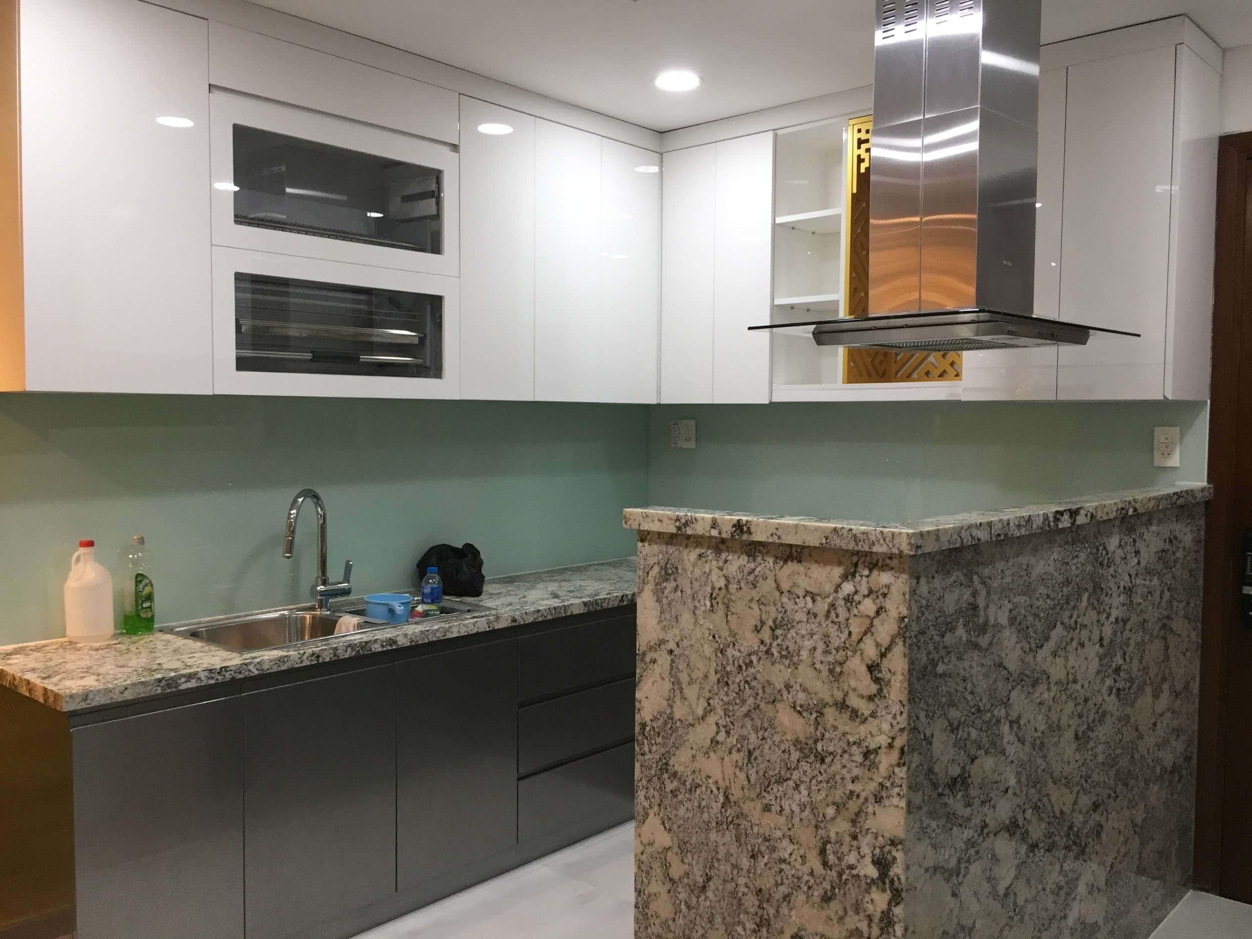 Thi công tủ bếp và nội thất chung cư masteri thảo điền q2